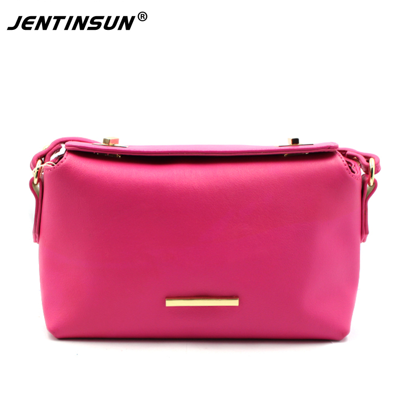 Fashion Genuine Leather Women Bags Solid Color Small Shoulder Bag Female Handbag Messenger Bag Cross Body Wallet Ladies Tote