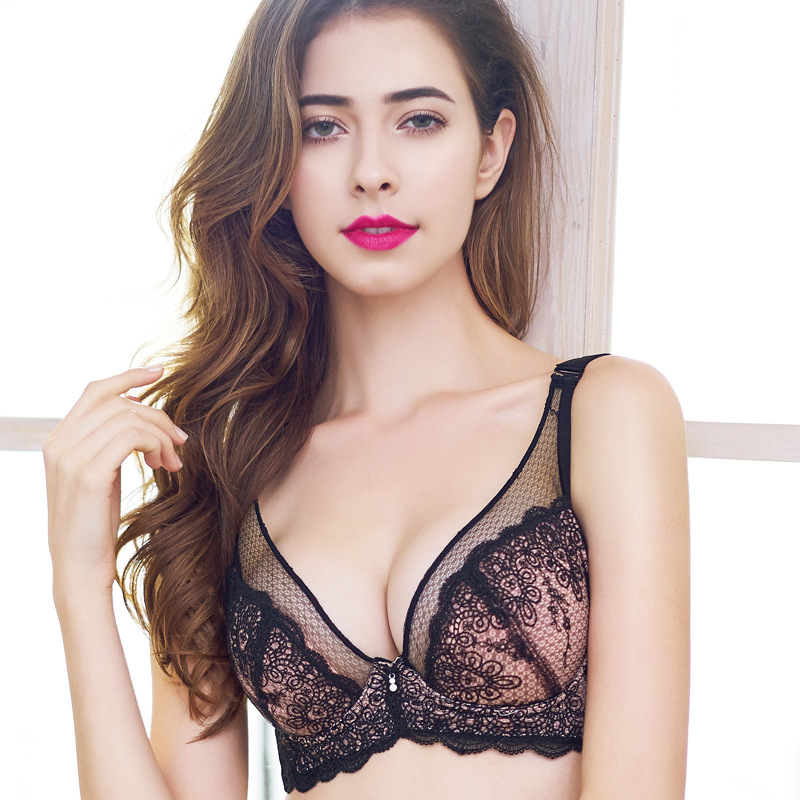 Women's Bra Push up Bra Shaping Bras Underwear Lace Hight ...