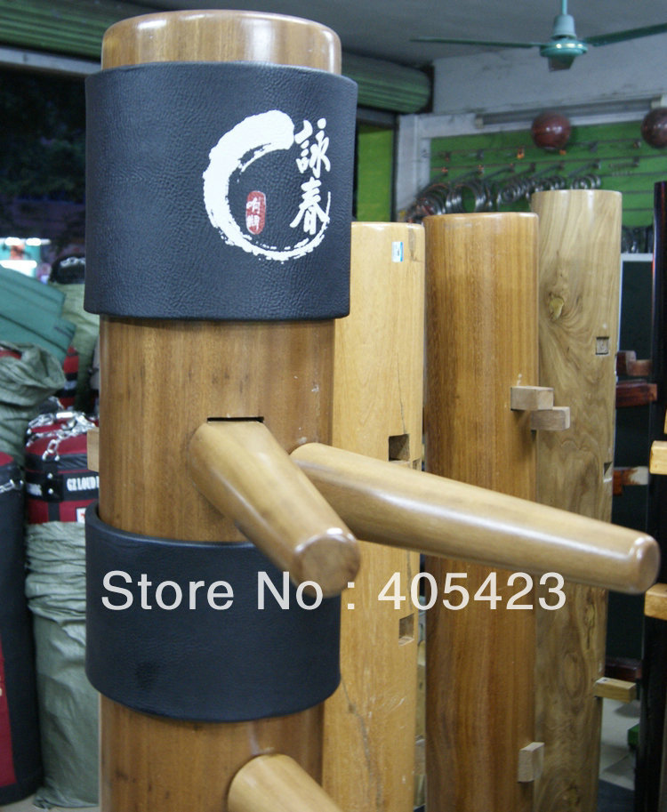 Free shipping! wing chun wooden dummy Head Pads  protecting bush 2pieces/set,1set/lot master recommend movement triangle frame wing chun wooden dummy donnie ye used standard kung fu wooden dummy martial arts