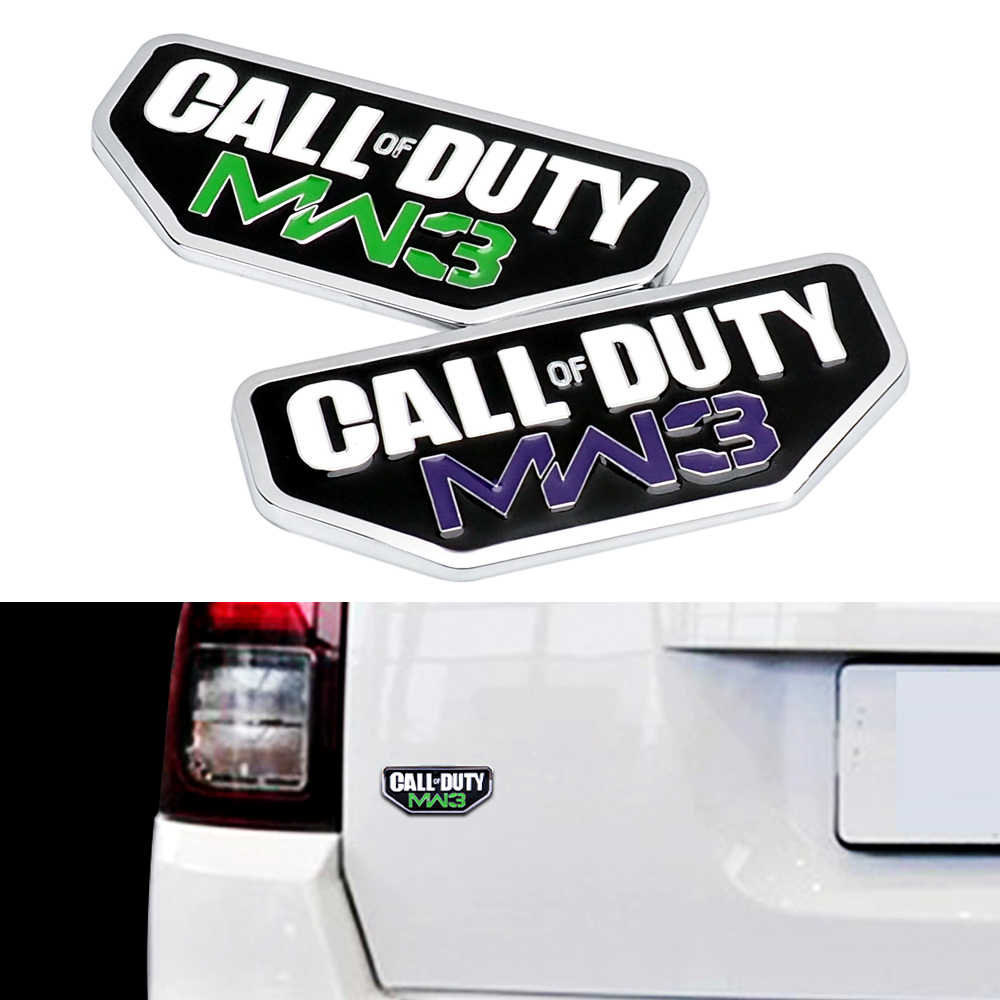 Call Of Duty Car Sticker