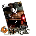Six with gimmick by Mickael Chatelain  / close-up street professional card magic tricks products / free shipping