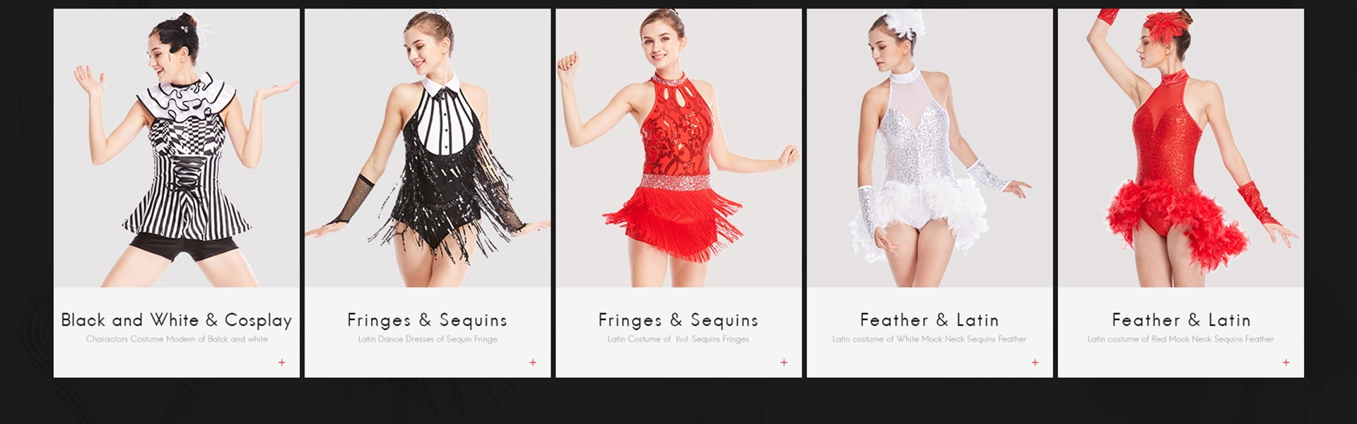 a7fc4476e4 MiDee Lyrical Dance Costume Dress Sequined V-Neck High-Low For Women Girls