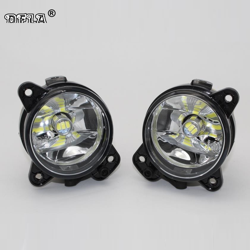 2pcs Car LED Light For Skoda Roomster 2006 2007 2008 2009 2010 Car-Styling LED Fog Light Fog Lamp car usb sd aux adapter digital music changer mp3 converter for skoda octavia 2007 2011 fits select oem radios