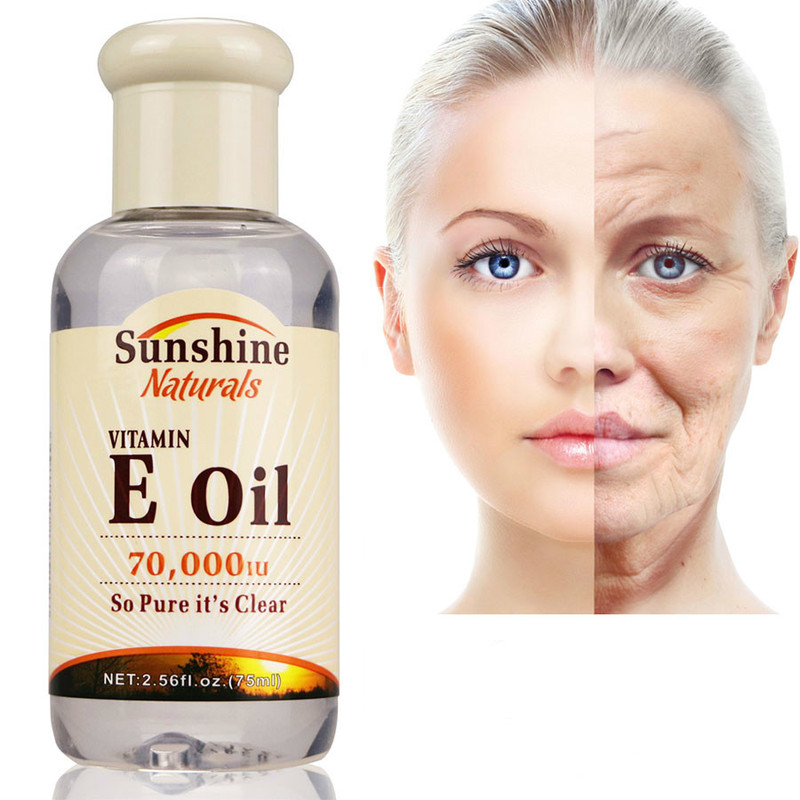Serum for Face Whitening Cream for Skin Care Anti-Aging Fine Lines Natural Vitamin E Oil Hyaluronic Liquid Anti Wrinkle TSLM1(China)