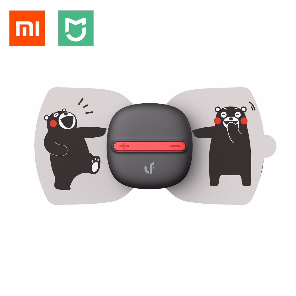 (English version)Xiaomi Mijia LF Electrical Full Body Relax Muscle Therapy Massager,Magic Touch massage stickers Kumamon edition replace stick for xiaomi mijia newest lf electrical stimulator full body relax muscle therapy massager magic massage stickers