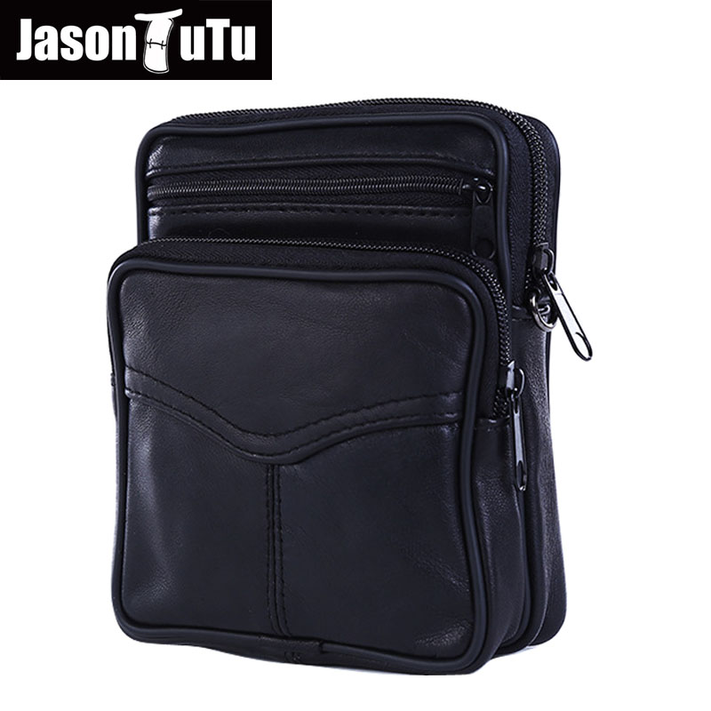 Genuine Leather Men Bag Small Shoulder Crossbody Bags For Men Messenger Bag Man Realer Sheepskin Black Mens Leather Briefcase hot 2017 genuine leather bags men high quality messenger bags small travel black crossbody shoulder bag for men li 1611