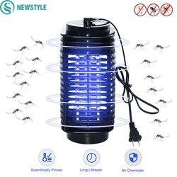Eléctrica LED Mosquito asesino luz Anti Mosquito trampa asesino lámparas de insectos para la casa nos enchufe de la UE mosquitos insectos lámparas