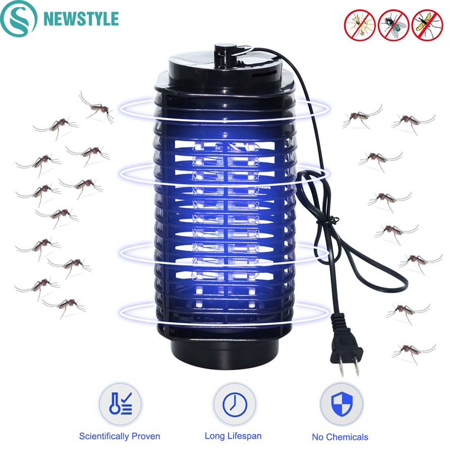 Electric LED Mosquito Killer Light Anti Mosquito Trap Killer Lamps Bug Zapper For Home US EU Plug Insect Mosquito Lamps new ultrasonic electronic home anti mosquito rat mice insects pest bug control repeller eu us plug