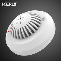 KERUI SD03 High Sensitivity Fire Smoke Alarm Fire Security Smoke Detector Voice Prompts For Home Security