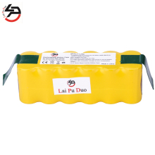 Laipuduo 14.4V 3500mah High quality Battery Pack for iRobot Roomba 560 530 510 562 550 570 500 581 610 780 532 770 760 new 6 armed lateral brush for irobot roomba 500 600 700 series 510 530 532 550 560 620 625 760 770 780 vacuum cleaner part