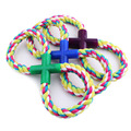 Figure 8 Rope Tug Toy Fun Exercise Puppy Dog Pets Toy  18cm Newest 2016