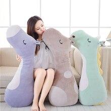 Hot Large Soft Animal Cartoon Sleeping Pillow Cushion Cute Unicorn Horse Giraffe Stuffed Plush Toy Lovely kids Birthyday Gift цена в Москве и Питере