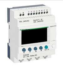 Relais intelligent Compact Zelio Logic - 12 I O-100, 240 V AC, affichage d'horloge, SR2B121FU