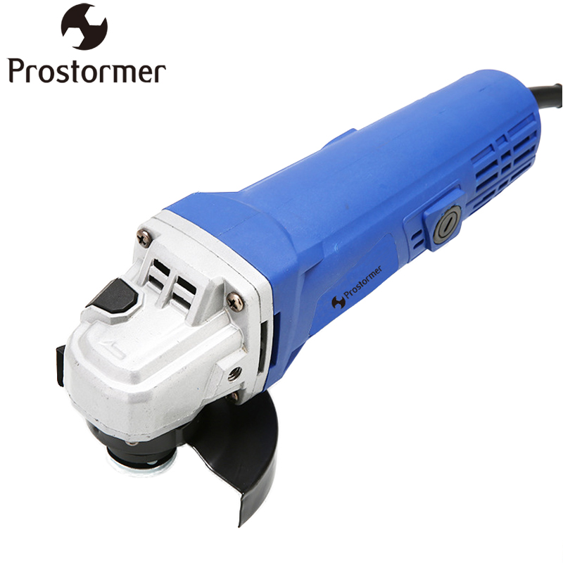 PROSTORMER 220V 860W Angle Grinder All-copper Motor Grinder Woodworking Polishing Power Tool Grinding Machine Cutting Engraver maxman electric angle grinder polisher grinding power tool dremel tool polishing machine for grinding of woodworking