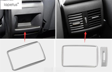 Lapetus For Mercedes-Benz CLA W117 A Class GLA 200 220 X156 2015 - 2018 ABS Armrest Box Rear AC Air Vent Outlet Frame Cover Trim