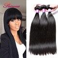 7a Peruvian Virgin Hair Straight Virgin Hair Bundles Natural Black Color Peruvian Straight Hair Human Hair Extension 4 Bundles