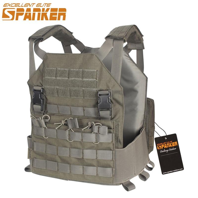 EXCELLENT ELITE SPANKER Outdoor Military Camouflage Modular Vests Moore Board Tactical Nylon Vests Hunting Jungle Combat