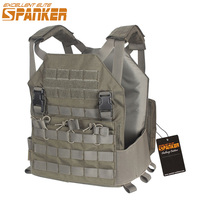 EXCELLENT ELITE SPANKER Outdoor Military Camouflage Modular Vests+Moore Board Tactical Nylon Vests Hunting Jungle Combat Vest