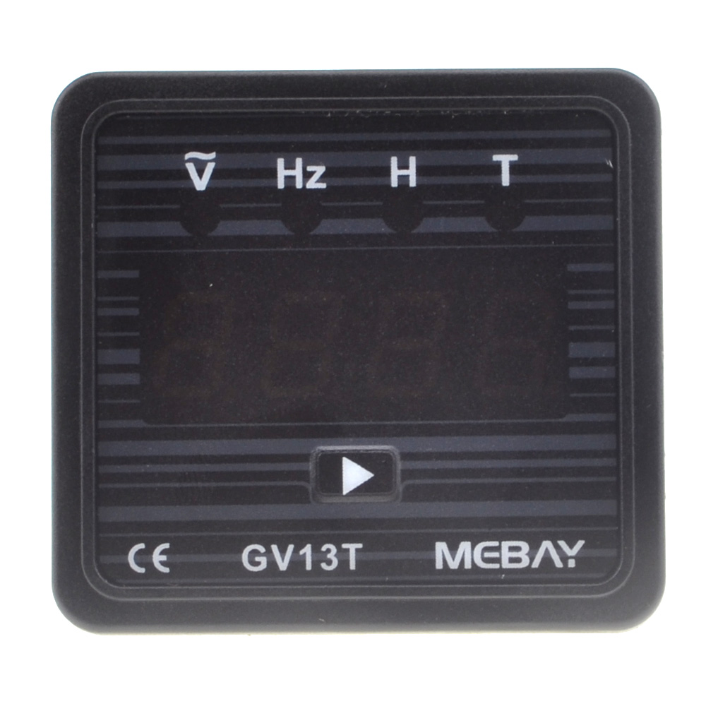 US $8 31 30% OFF|Brand New BC GV13T AC220V Diesel Generator Digital  Voltmeter Frequency Test Hour Meter Free Shipping 12001842_220V-in  Generator Parts