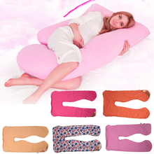 Maternity Pregnancy Body Surrounded Soft Pillow Case Sleep Cushion Cover Home Supplies Accessories