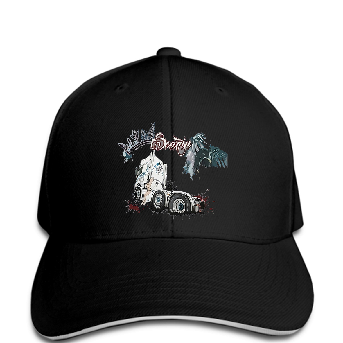 899d69e94b6cf Kenworth Trucks Trucker Hat mesh Hat Snap Back Hat black Hats Clothing