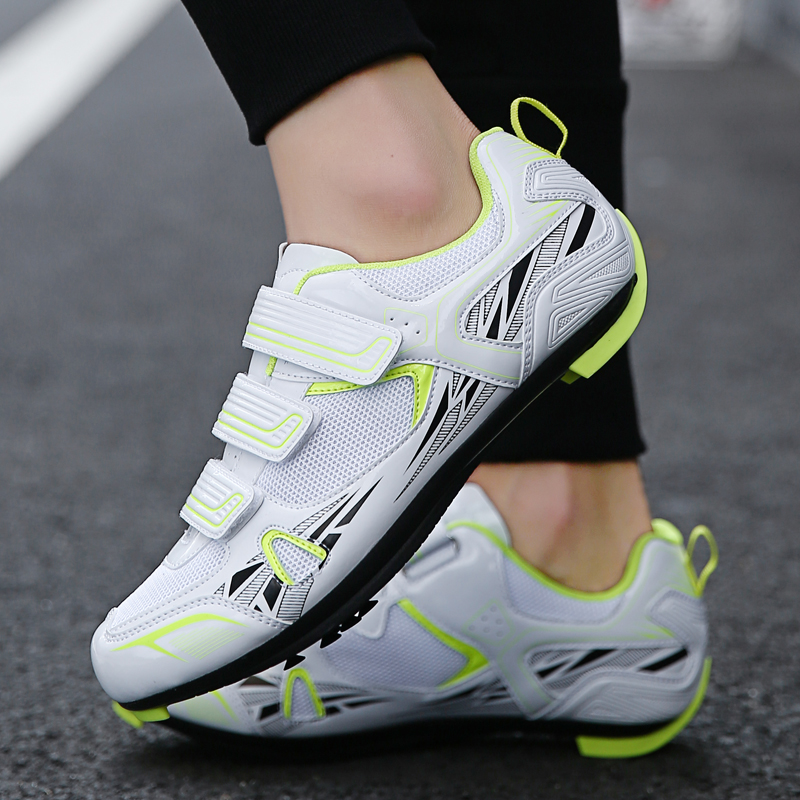 Big Size New Road Bike Shoes Outdoor Sport Shoes Men Racing Bicycle Sneakers Professional Breathable Athletic