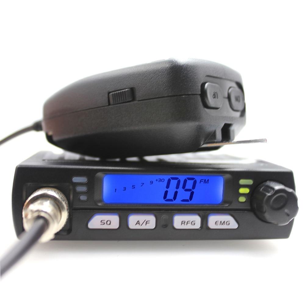 Radio Ultra compacte AM FM Mini Mobie CB 10 M Station de radio de voiture Amateur CB-40M Radio de bande citoyenne 26.965-27.405 MHz AR-925