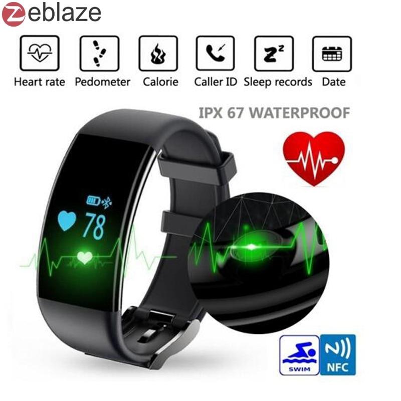 imágenes para Ip67 a prueba de agua banda de frecuencia cardíaca bluetooth smart watch d21 pulsera smartband actividad rastreador de fitness para ios android
