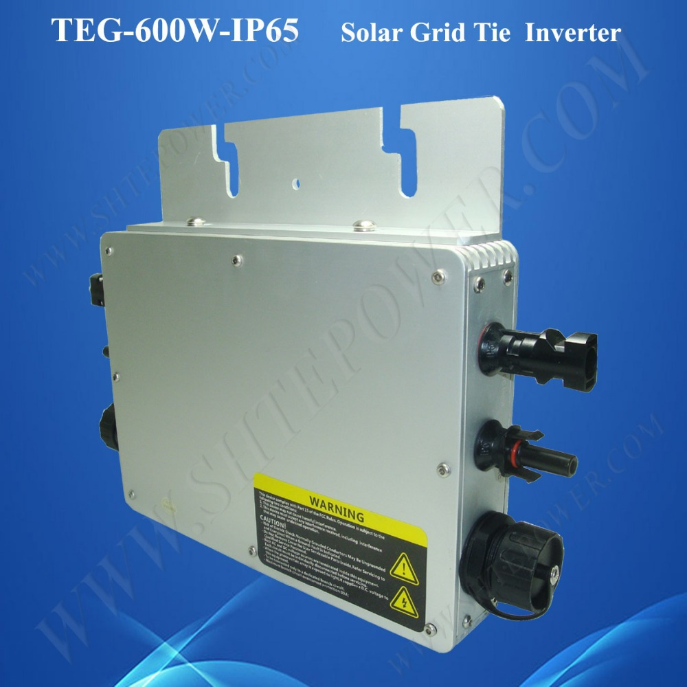 NEW product 22-50VDC to 180-260VAC waterproof 24v 600w solar panel micro inverter grid tie for home use 600w 600w 20 40vdc mppt grid tie inverter for 600 720w 24v 48cells or 30v 60cells pv solar panel 90 260vac wind power inverter 600w
