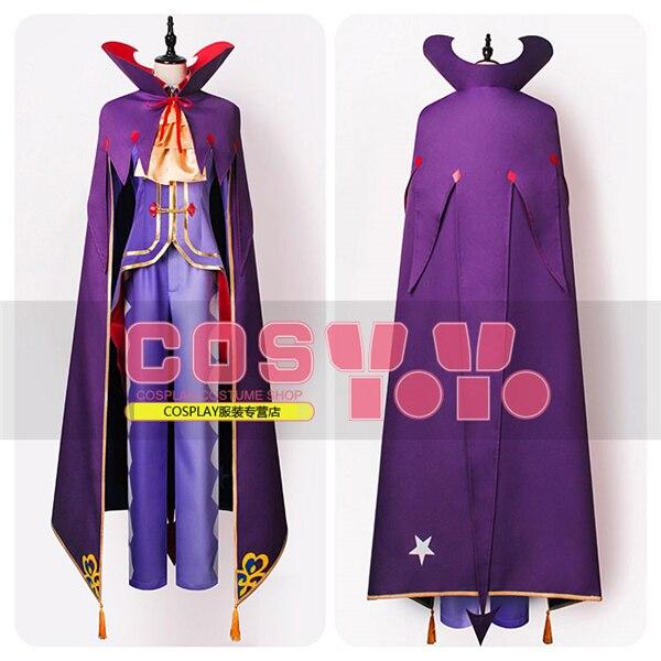 Anime Re:Life In A Different World From Zero Rozuwaru L Meizasu Fashion Uniform Party Cosplay Costume Shirt+Pants+Cloak