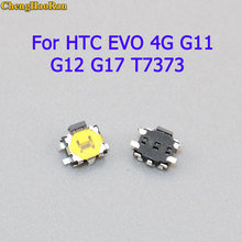 ChengHaoRan 10pcs Volume Buttons For HTC EVO 4G G11 G12 G17 T7373 S710e MB525 micro switch Power On Off Switch