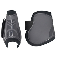 2 PCS Soft PU Leather Horse Riding Equestrian Equipment Horse Legging Protector Horse Riding Equipment Accesories