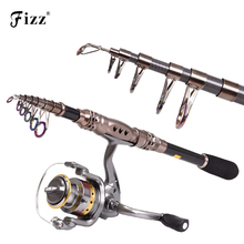Super Strength Carbon Fiber Fishing Rod Telescopic Fishing Pole Metal Reel Seat Spinning Fishing Rod Sea Fishing Tackle