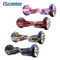 IScooter Ховерборд 6,5 дюймов Bluetooth и дистанционный ключ два колеса самобалансирующийся электрический скутер скейтборд Электрический Ховерборд