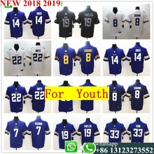 958671dc5 Youth Minnesota Kirk Cousins Harrison Smith Adam Thielen Stefon Diggs Vapor  Untouchable Limited Player Jersey(