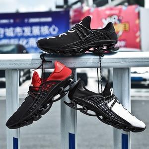 Image 5 - Ozersk tênis masculino sapatos casuais lâmina tênis de amortecimento sapatos esportivos ao ar livre luz formadores verão chaussures pour hommes