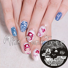 New Stamping Plate hehe15 Cartoon Anime One Piece Jobar Nail Art Stamp Template Image Transfer Stamp