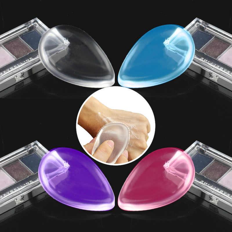 חדש סיליקון קוסמטי פאף silisponge פנים קרן איפור פאף קוסמטי יופי כלים לא ספוג אבקת בלנדר באיכות גבוהה