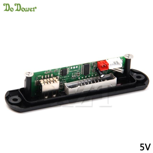 High Quality TF Radio MP3 Decoder Board 5V Audio Module for Car Remote Music Speaker DC 5V Micro USB Power Supply