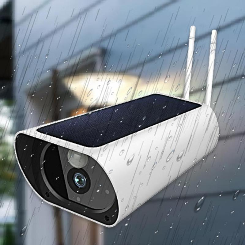 Q3 2MP 1080P HD 4G/Wifi Wireless Smart IP Camera Solar Waterproof Night Vision Outdoor Security Surveillance Camera Monitor
