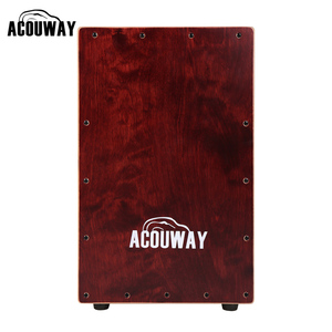 ACOUWAY cajon drum box Hand Drum Birch Plywood with Alloy Screws adjustable rubber feet for adult size 30X31X48(CM)