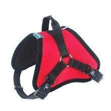 Venxuis Nylon Sport Dog Harness Vest Удобная дышащая кормушка для домашних животных Взрывозащищенная профессиональная собака-кошка