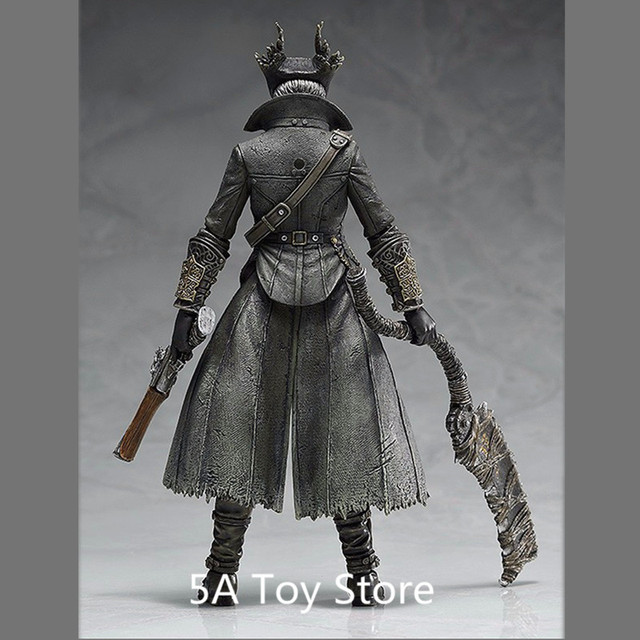PS4 Bloodborne Games Figure Hunter Figma 367 PVC Action Figure Model Collection Toy Doll Gifts 15CM 4