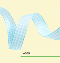 1 Inch 2.5cm tartan plaid ribbon
