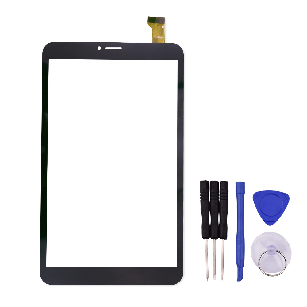 8 inch touch screen for tz80 tablet pc digitizer sensor replacement