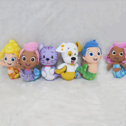 687a3d507ed56 Nickelodeon Bubble Guppies Bubble-rina Molly Plush Toys 20cm Mutlistlyle  For Choosing Gil