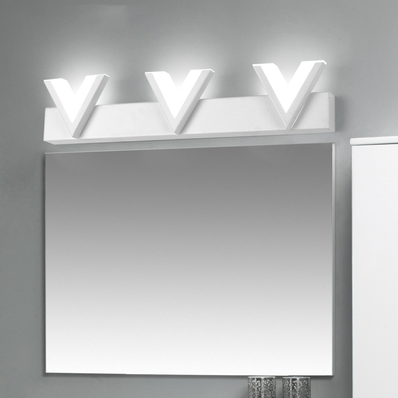 SINFULL ART Modern Bathroom Wall Lamp home hotel led Mirror Light Bedside Corridor Sconce Lighting Fixtures Lamps 24w AC90-260V modern wall lamp bedside lamps wall light bedroom lighting for home decor 110v 220v e14 holder lightings study room hotel hall