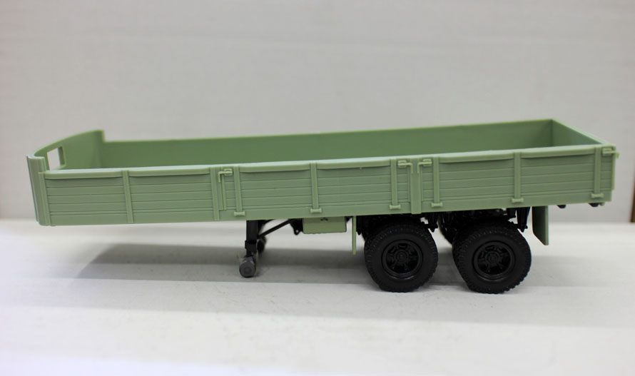 Collectible Alloy Toy Model Gift MAZ  1:43 Scale Russian Vintage Truck Tractor Trailer Vehicles Diecast Toy Model Decoration