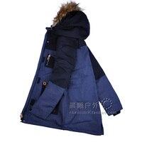 30 Degree GSOU SNOW Women Ski Jacket Fur Hooded Super Warm Windproof Waterproof Skiing Snowboard Outdoor Sport Wear Female Coat