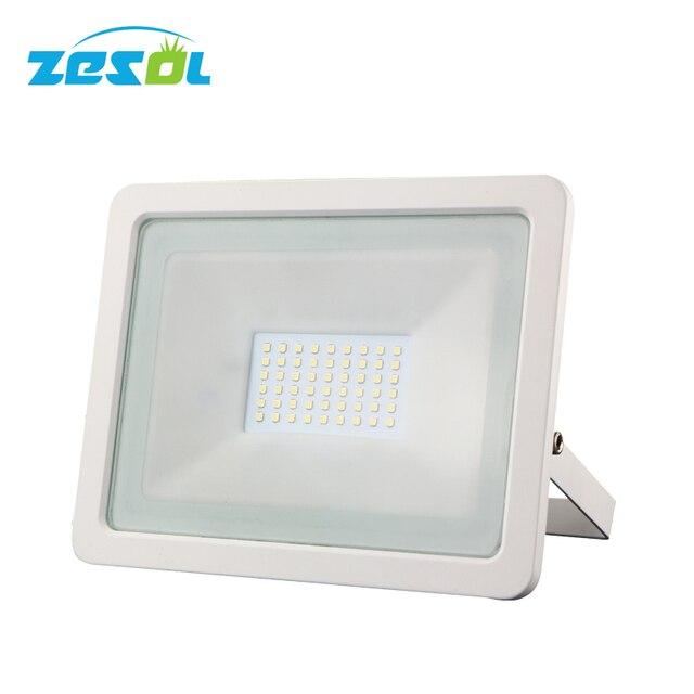 Zesol 50w Eclairage Exterieur Flood Light Led Projecteur 220v 230v